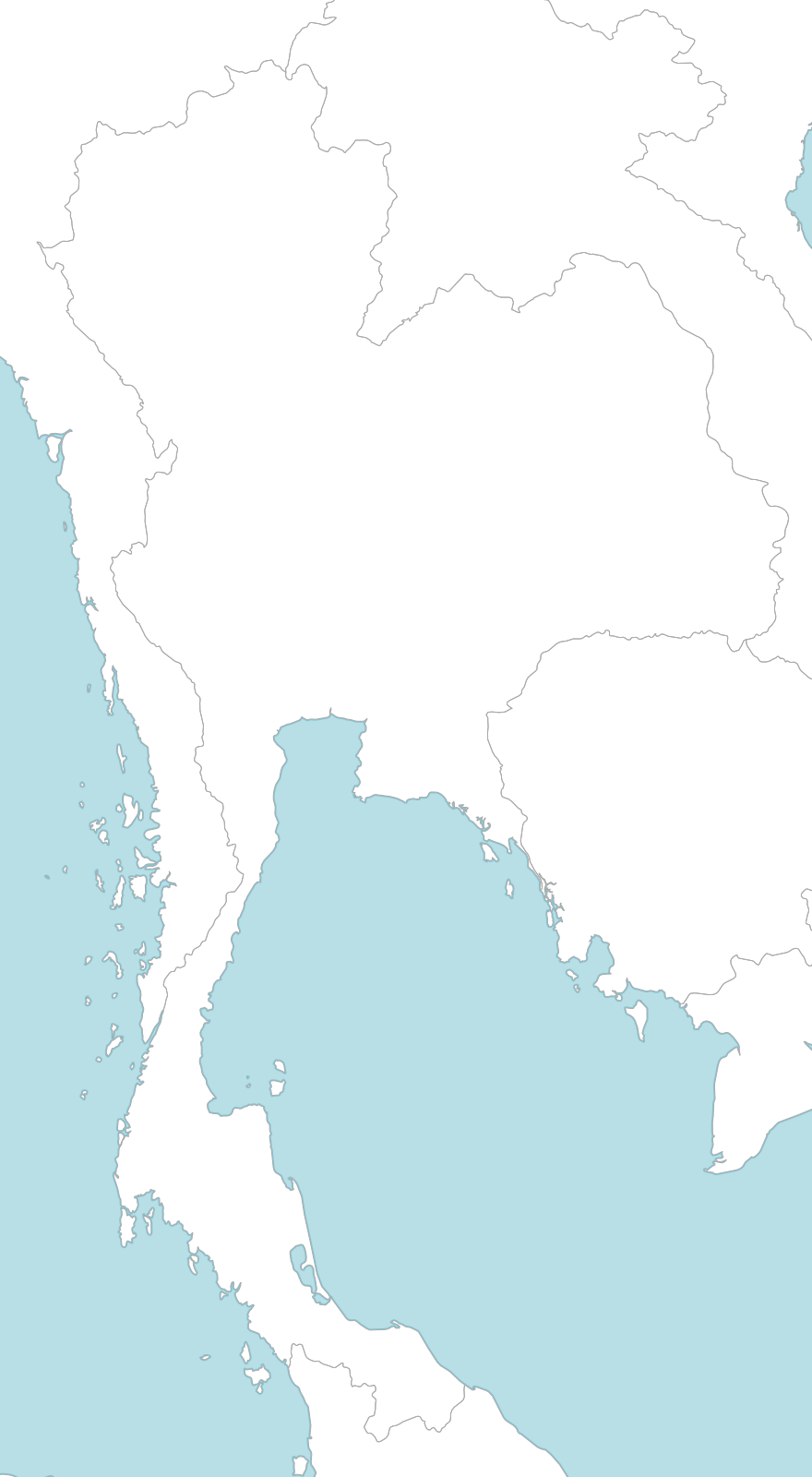 picture relating to Printable Map of Thailand identified as 6 totally free maps of Thailand - ASEAN UP