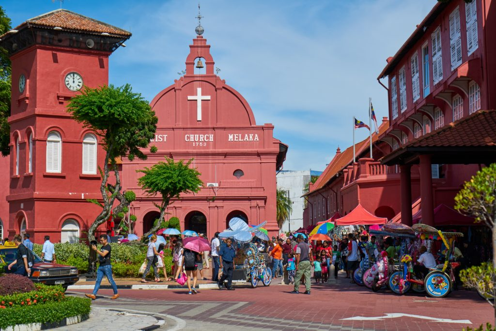 Malacca church