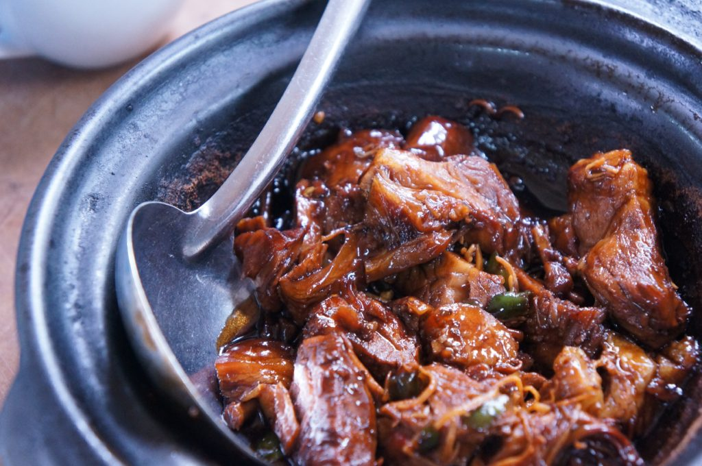 pork stew in claypot