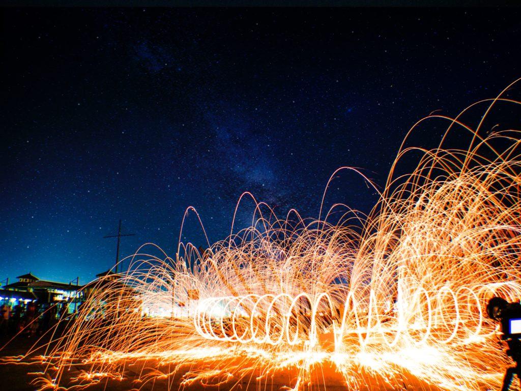 sparkles show