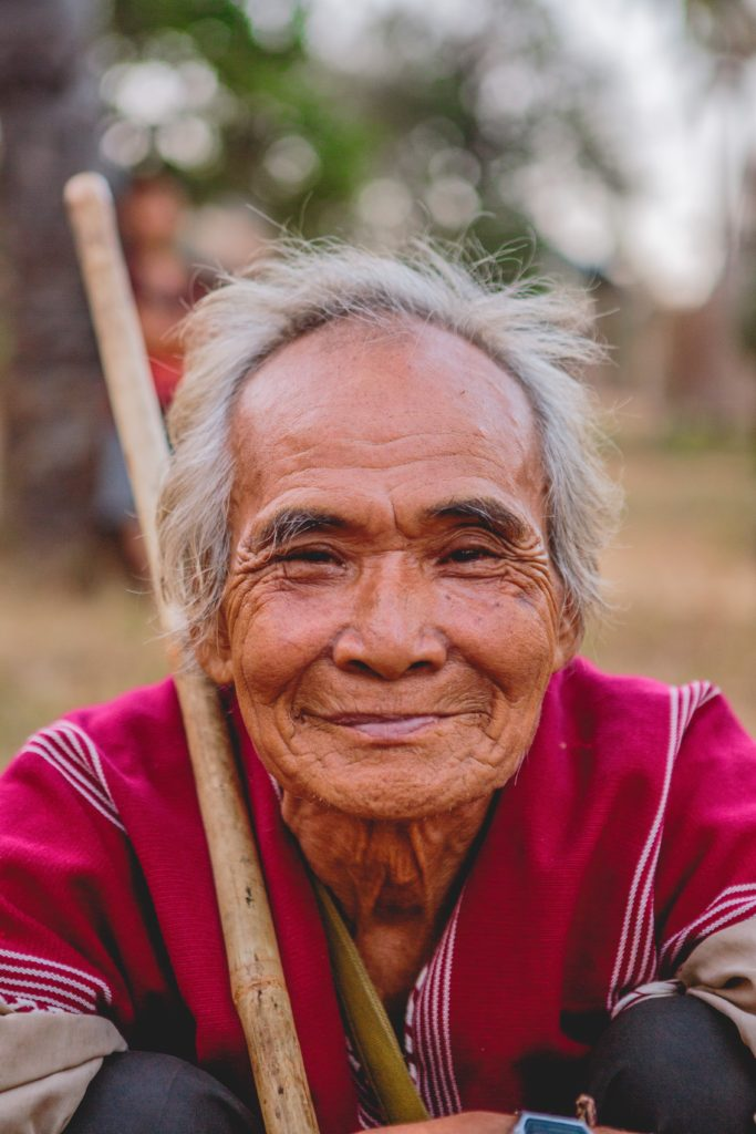 Old thai man