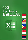 Top blogs of Southeast Asia spreadsheet cover